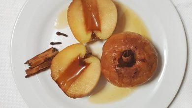 Receta Manzanas al horno