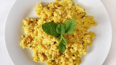 Receta Cuscús de coliflor al curry
